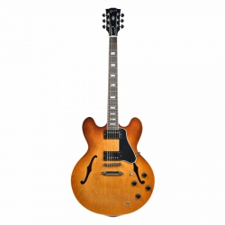 Gibson Memphis ES-335 Block Elektro Gitar (Faded Light Burst)