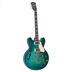 Gibson Memphis ES-335 Figured Elektro Gitar (Aquamarine)