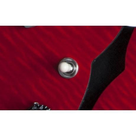 Gibson Memphis ES-335 Figured Elektro Gitar (Cherry)<br>Fotoğraf: 7/10