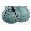 Gibson Memphis ES-335 Figured Elektro Gitar (Turquoise)<br>Fotoğraf: 2/3