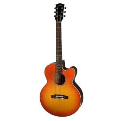 Gibson Montana Parlor Avant Garde Akustik Gitar (Light Cherry Burst)