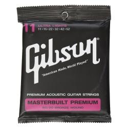 Gibson SAG-BRS11 Masterbuilt Premium Akusik Gitar Teli (.011-.052)