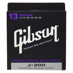 Gibson SAG-J200 Phospor Bronze Akustik Gitar Teli (13 56)