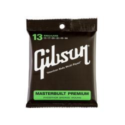 Gibson SAG-MB13 Masterbuilt Premium Akustik Gitar Teli (13 56)