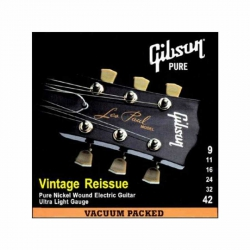 Gibson SEG-VR9 Elektro Gitar Teli (09-42)