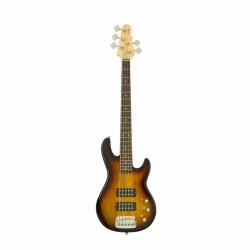 G&L L2500 5 String 2 Tone Sunburst RW Bass Gitar