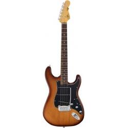 G&L Tribute S-500 Tobacco Sunburst Elektro Gitar