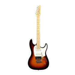 Godin 033928 Session SG MN Elektro Gitar (Vintage Burst)