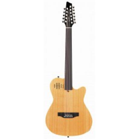 Godin A11 Glissentar 11 Telli Perdesiz Elektro Klasik Gitar<br>Fotoğraf: 1/1
