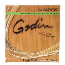Godin A11 Glissentar Phosphor Bronze Elektro Gitar Teli