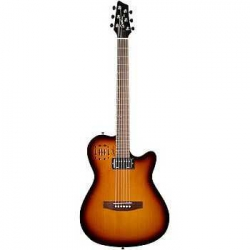 Godin A6 Ultra Cognac Burst Elektro Akustik Gitar