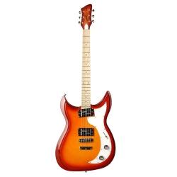 Godin Dorchester HG MN Solid-Body Elektro Gitar (Cherry Burst)