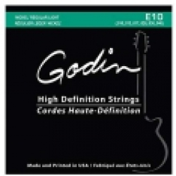 Godin E-10 Nickel Regular Light Elektro Gitar Teli (10-46)