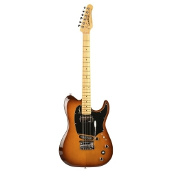 Godin Electric Session Custom Tripleplay Elektro Gitar (Light Burst)