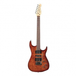 Godin Freeway Sa Elektro Gitar (Light Burst Flame)