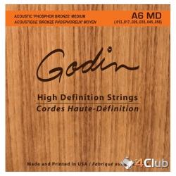 Godin MD Phos Bronze Akustik Gitar Teli (.013-.056)