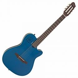 Godin Multiac Encore Trans Blue Elektro Klasik Gitar