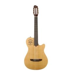 Godin Multiac Grand Concert Duet Ambiance Elektro Klasik Gitar (Natural)
