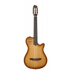 Godin Multiac Grand Concert Lightburst HG Elektro Klasik Gitar