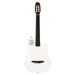 Godin Multiac Grand Concert SA Elektro Klasik Gitar (Beyaz)