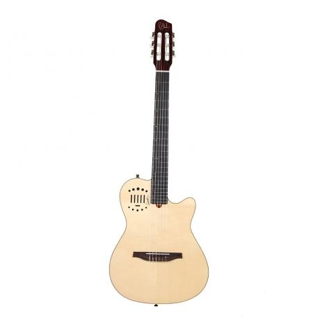 Godin Multiac Nylon Duet Ambiance Elektro klasik Gitar<br>Fotoğraf: 1/3