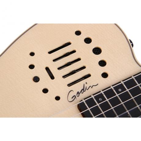 Godin Multiac Nylon Duet Ambiance Elektro klasik Gitar<br>Fotoğraf: 2/3