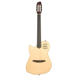 Godin Multiac Nylon SA Solak Elektro Klasik Gitar (Natural)