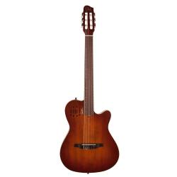 Godin Multiac Nylon SG Elektro Klasik Gitar (Encore Burnt Umber)