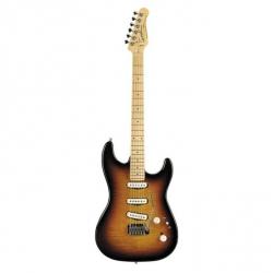 Godin Progression Elektro Gitar (Vintage Burst Flame )