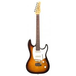 Godin Progression Plus HG RN Elektro Gitar (Vintage Burst)