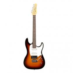 Godin Progression Rn Elektro Gitar (Vintage Burst Flame)