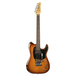 Godin Session Custom Tripleplay Elektro Gitar (Light Burst)