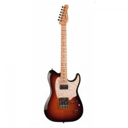 Godin Stadium 59 Vintage MN Elektro Gitar (Burst Flame)
