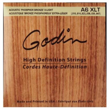 Godin XLT Phos Bronze Akustik Gitar Teli (.010-.047)<br>Fotoğraf: 1/1