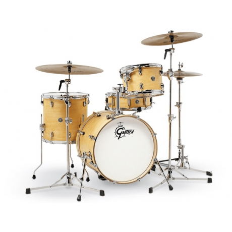 Gretsch CT1-J484-SN Catalina Club Jazz Akustik Davul Seti<br>Fotoğraf: 1/2