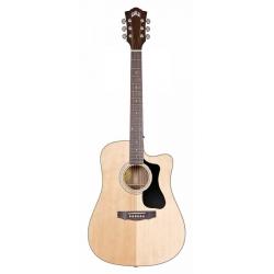 Guild D-140CE NAT Elektro Akustik Gitar