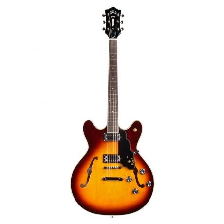 Guild STARFIRE IV Elektro Gitar (Vintage Sunburst)<br>Fotoğraf: 1/2