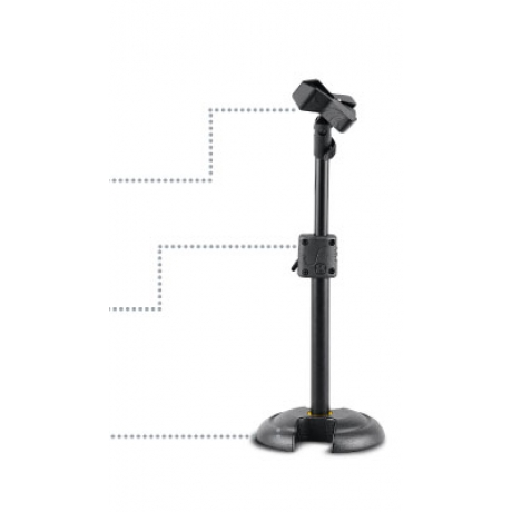 HERCULES LOW PROFILE H SHAPE BASE MIC. STAND<br>Fotoğraf: 1/1