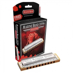 Hohner 1896/20 Marine Band Classic Bb (Si Bemol Naturel Minor)