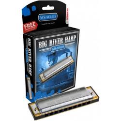 Hohner Big River Harp MS Serisi Mızıka (Mi Majör)