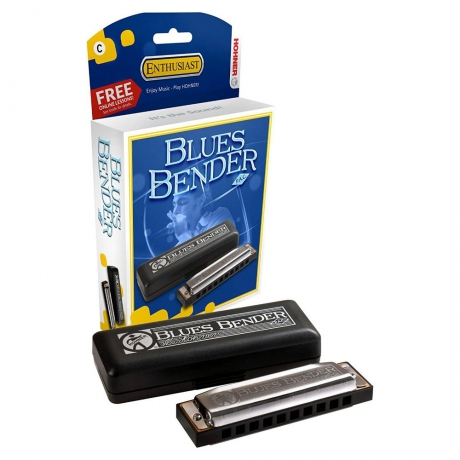 Hohner Blues Bender Mızıka (La Majör)<br>Fotoğraf: 1/1