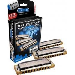 Hohner Blues Harp Mızıka Seti (Do-Sol-La Majör)