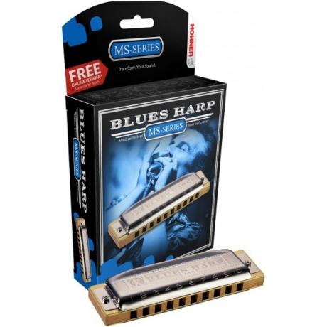 Hohner Blues Harp MS Serisi Mızıka (Do Majör)<br>Fotoğraf: 1/2