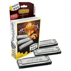Hohner Hot Metal Mızıka Seti (Do-Sol-La Majör)