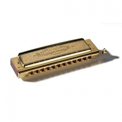 Hohner M27099 48 Gold  Chromonica Mızıka (Do Majör)