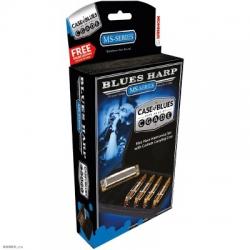 Hohner M53305XP 532/20 Blues Harp 5li Paket Mızıka