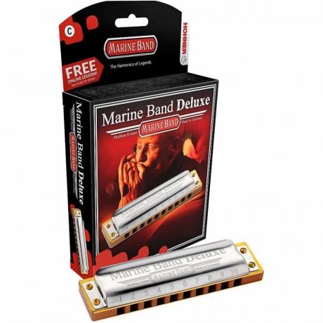 Hohner Marine Band Deluxe C Mızıka (Do Majör)<br>Fotoğraf: 1/2