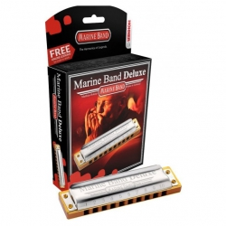 Hohner Marine Band Deluxe Mızıka (Re Majör)