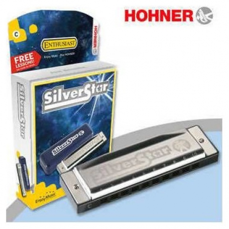 Hohner Silver Star Mızıka (Si Bemol Majör)<br>Fotoğraf: 1/1