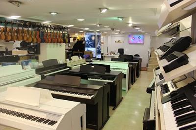 İstanbul, Beyoğlu (Tünel) Piyano Mağazası, Fotoğraf: (5/5)